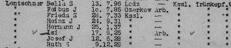 aus der Deportationsliste vom 9.12.1941