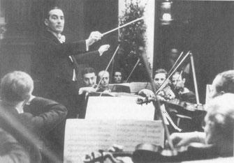 Werner Seelig-Bass als Dirigent