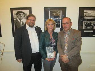 V.l.n.r.: GR Mag. Klaus Bergmaier, StRin Eva Hollerer, Dr. Robert Streibel. Foto: zVg