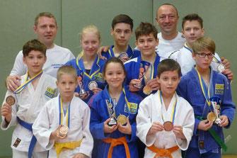 Erfolgreiches Siegerteam des Judoklub Krems. Foto: zVg.