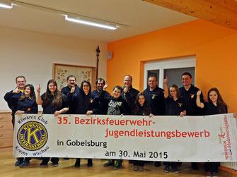 Sichtlich vorfreudig ist die FF Gobelsburg anzutreffen. Foto: Martin Hofbauer