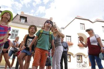 Die Kinder entdecken beim diesjährigen Ferienspiel das historische Krems. © Stadt Krems.