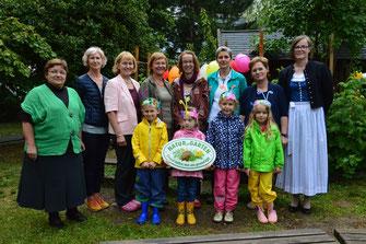"""""""10 Jahre Natur im Garten"""" im Kindergarten Mitterau 2. © Stadt Krems."""