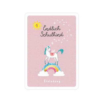 """Einladungskarte Einschulung """"Eule"""" lotti"""