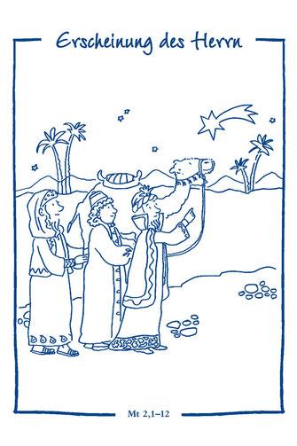 Ausmalbilder Hl Drei Könige Pfarreiengemeinschaft Buchloe Kirche