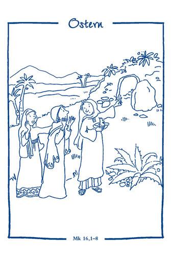 Ausmalbilder Ostern Und Fastenzeit Pfarreiengemeinschaft Buchloe Kirche