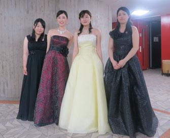 左から、藤岡さん、田島さん、高橋さん、熊谷さん