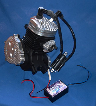 66cc//80cc 2-STROKE motorized bike High Compression HEAD For Bike Motor Kit