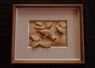 木彫 カエル