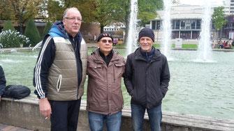 v.l. Klaus Hanßen, Klaus Hübner, Michael Quack