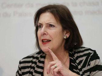 Alt Ständerätin Christine Egerszegi von der FDP kämpfte für eine höhere Legal Quote.