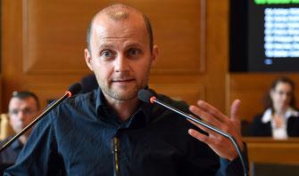 Blaise Kropf, der ehemalige Präsident der Berner Grünen.
