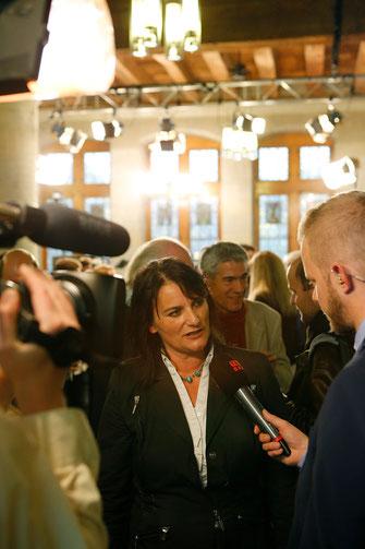 Christine Häsler aus Burglauenen schaffte die Wiederwahl.