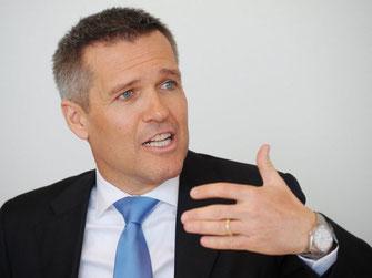 Lukas Gähwiler, CEO UBS Schweiz.