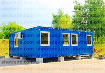 Модульное здание из трех контейнеров containex