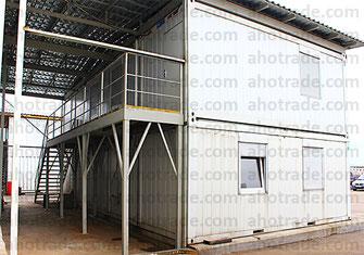 Двухэтажный модульный офис