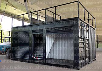 Павильон из морского контейнера