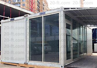 Модульное здание МФЦ, вдухэтажное