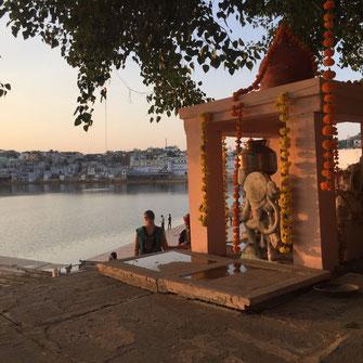 Pushkar Pilgerstadt der Hindus