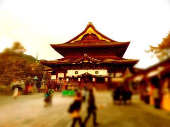 正月の善光寺