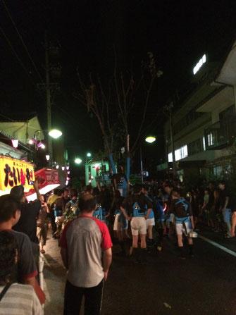 榊祭りの神輿