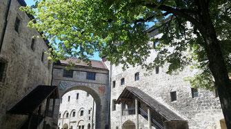 Burg Burghausen, Hauptburg, Dürnitz und Kemenate