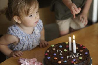 2. Geburtstag von Mia