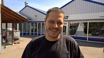 Inhaber und Geschäftsführer: Markus Stocker der Garage Stocker Muttenz GmbH