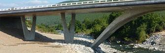 Béton Haute performance (BHP) - Pont d'Altiani