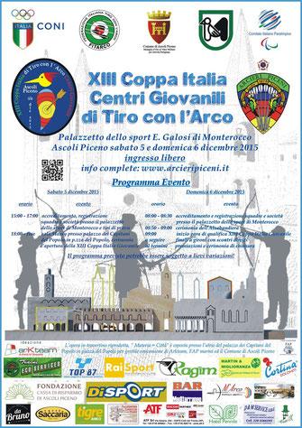 L'Hotel Pennile di Ascoli Piceno è orgoglioso di ospitare la delegazione della Federazione Italiana di Tiro con l'Arco, in occasione della Coppa Italia giovanile in programma il 5 e il 6 Novembre