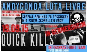 Krav Maga Combatives Hanau - Luta Livre Seminar