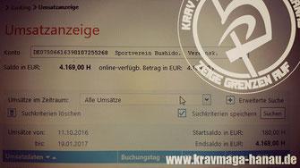 "Krav Maga - Combatives Hanau - Benefizseminar ""Harte Jungs für strahlende Kinderaugen"""