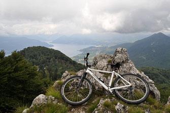 Passo di Cuvignone, Monte Sasso del Ferro, 1036 Meter