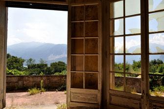 Blick auf eine der vielen Terrassen