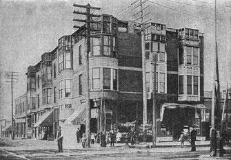 "Des Doktors ""Schloss"" in Chicago Englewood, 1893"