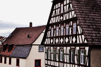 Fachwerkfassade in Wurmberg