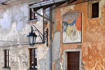 """""""San Martino e il povero"""", Giuseppe Montanari, 1956"""