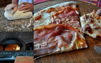 Hausgemachte Pizza