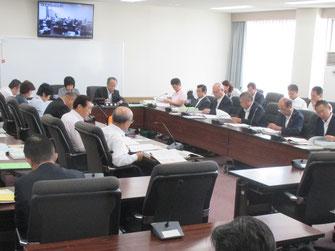 決算特別委員会の模様(9月21日)
