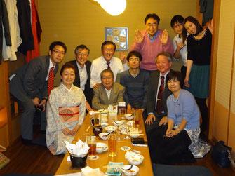 平塚江南高校同窓会の九州支部懇親会