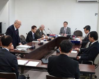 古河市議会議会運営委員会(11月28日)