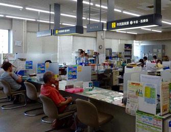 古賀市市民国保課の窓口