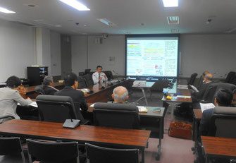 松本市の視察報告(古賀市議会第1委員会室)