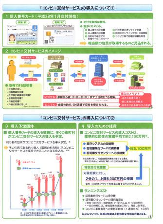 マイナンバーカードによる住民票等のコンビニ交付の概要