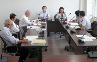 議会運営委員会の模様(10月5日)