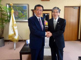 松本市の菅谷市長から貴重なお話を聞きしました