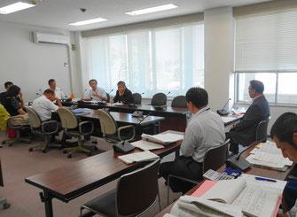 市民建産委員会での所管事務調査(8月8日)