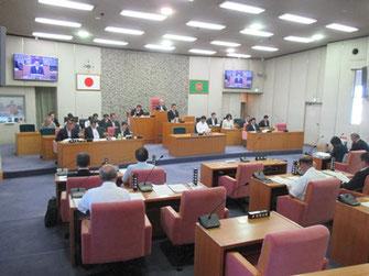 最終日の本会議(9月27日)
