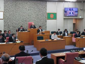 補正予算特別委員会の報告(井之上豊委員長)