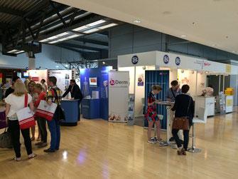 Set der JuDerm-Selfie-Kampagne auf der diesjährigen FOBI in München (Foto: JuDerm)